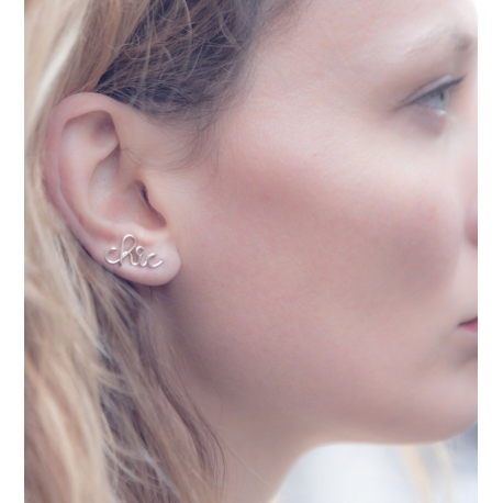 """chic"" earrings earcuffs Atelier Paulin"