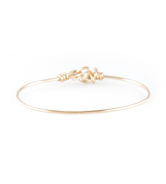 Yellow 14K bracelet pure
