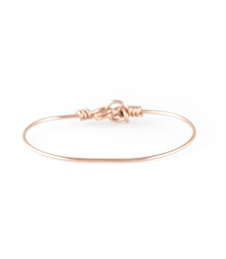 Bracelet nude pure en gold-filled 14 carats rose Atelier Paulin