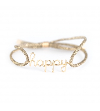 Original Happy Cord Bracelet