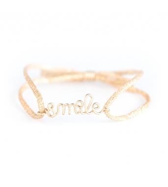 Bracelet Original Lurex Smile