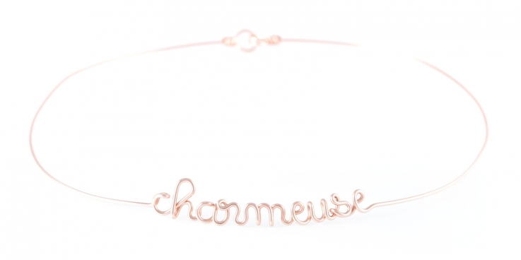 """""""charmeuse"""" torc necklace Atelier Paulin"""