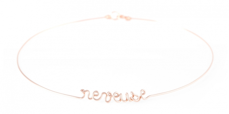 """reveuse"" torc necklace Atelier Paulin"