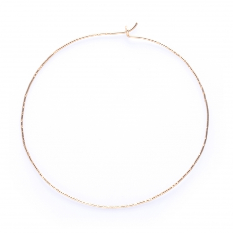 Nude hammered gold filled 14k yellow