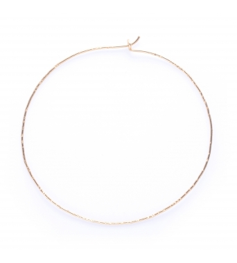 nude hammered - gold filled 14k yellow
