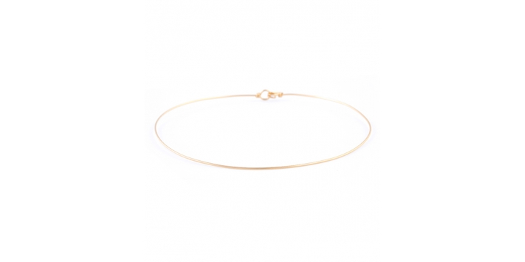 ATELIER PAULIN   Torc Pure Gold Filled 14K Yellow