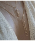 "ATELIER PAULIN |""Official writing"" Love necklace"
