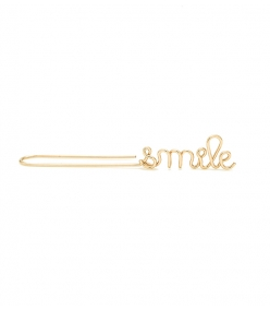 ATELIER PAULIN -Smile drop earring