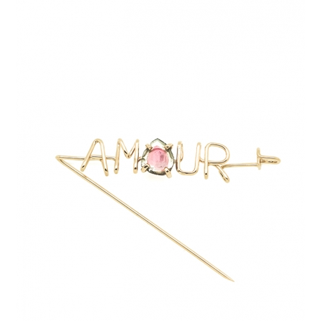 ATELIER PAULIN -Fibula Amour Pierre Emotion