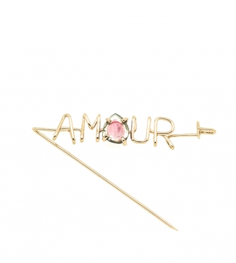 Amour Emotion Stone Capital Brooch