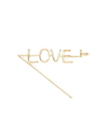 Capital Love Brooch