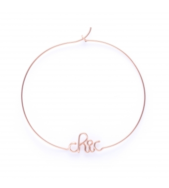 Hoops Chic - 14k rose
