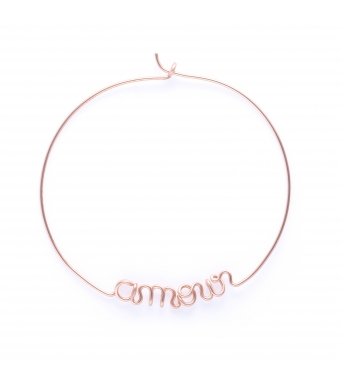 Hoops Amour - 14k rose