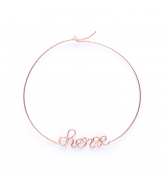 Hoops Chérie - 14k yellow