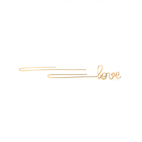 ATELIER PAULIN Love drop earring