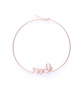 Hoops Rock - 14k rose