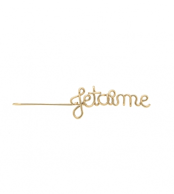 Suspendues Je t'aime - 14k rose