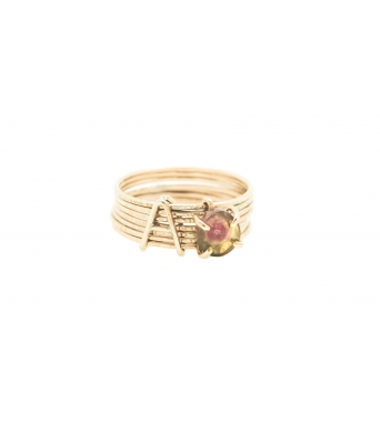 Capital Semainier Pierre Emotion Initial Ring