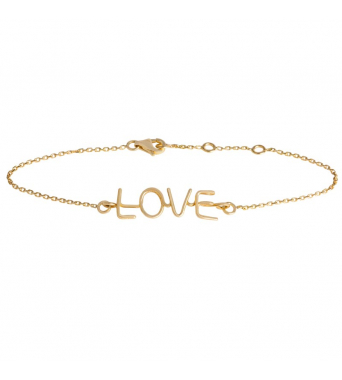 Capital Richelieu Love Bracelet