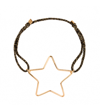 Braccialetto lurex Big Star