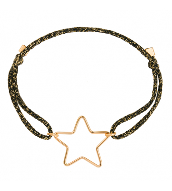 Mini Star lurex bracelet