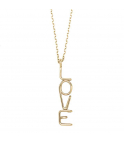 "ATELIER PAULIN | Collier Love ""Ecriture Officielle"""