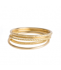 Nude Chiselled Ring L