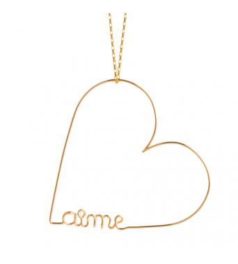 Original heart aime necklace