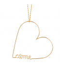 Collier Original coeur aime
