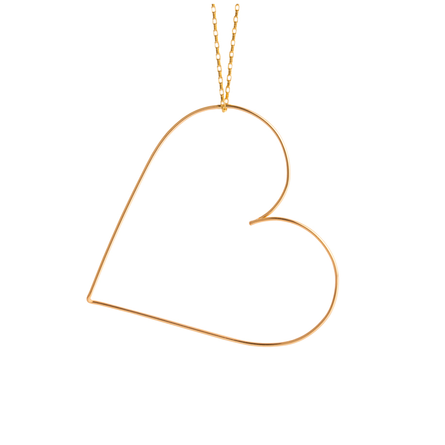 Original petit coeur necklace