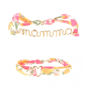 "Duo Bracelets Mothers Day ""Mamma"""
