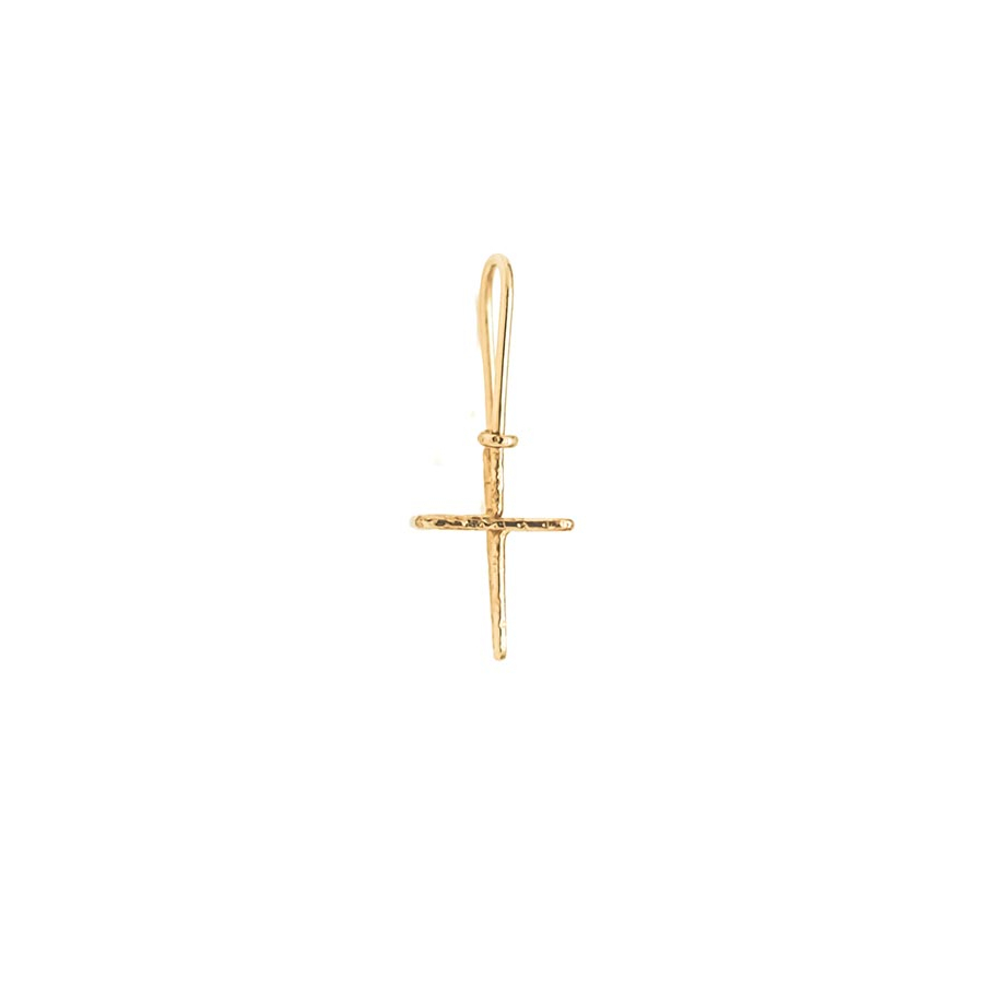 ATELIER PAULIN |Cross earring chiseled