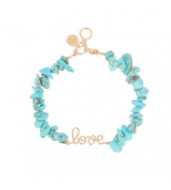 Bracelet love x Shaker Jewels