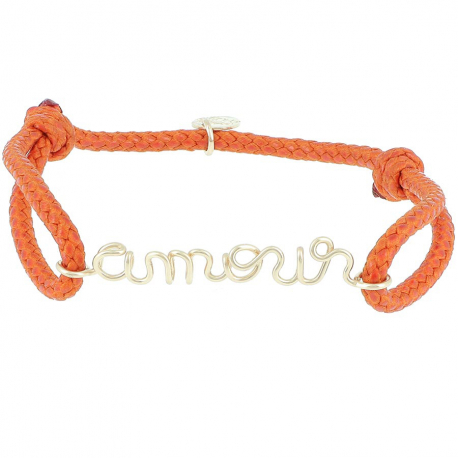 Original Personalized Cord Bracelet