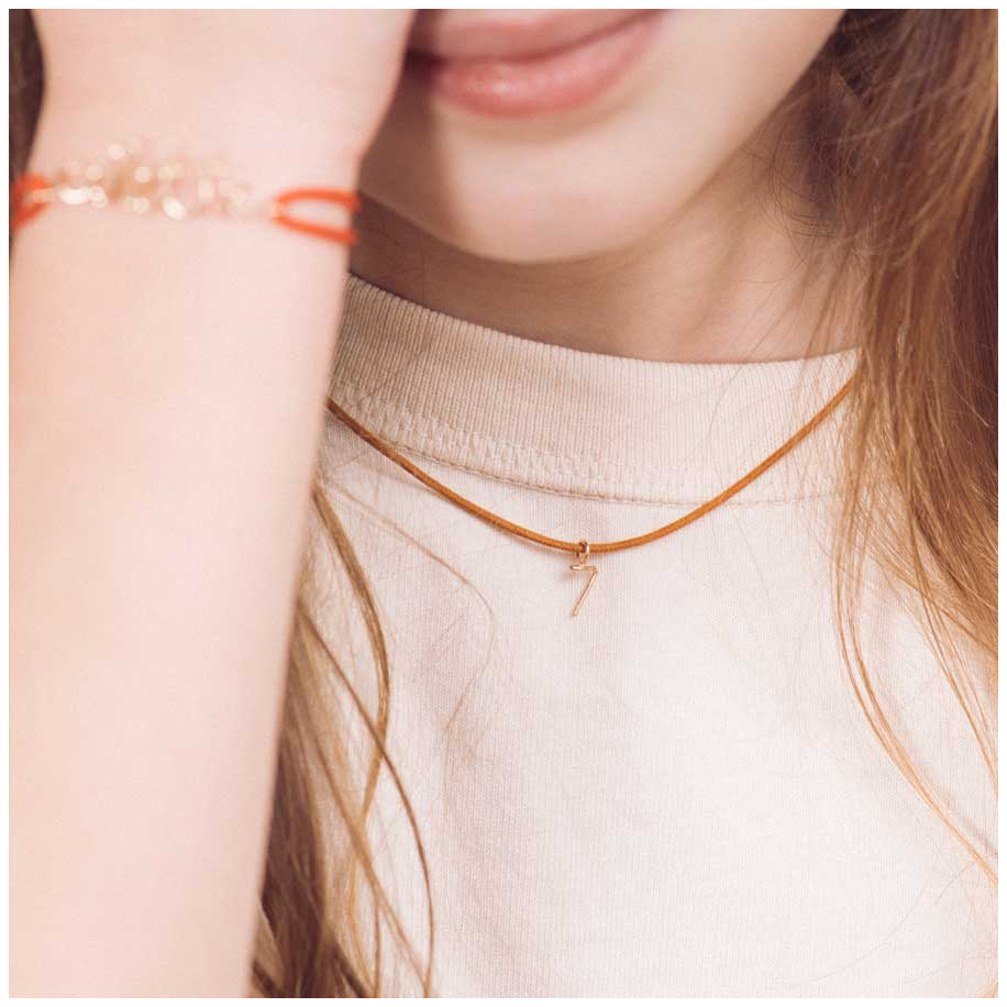 Collier Charms Numérologie MY WAY