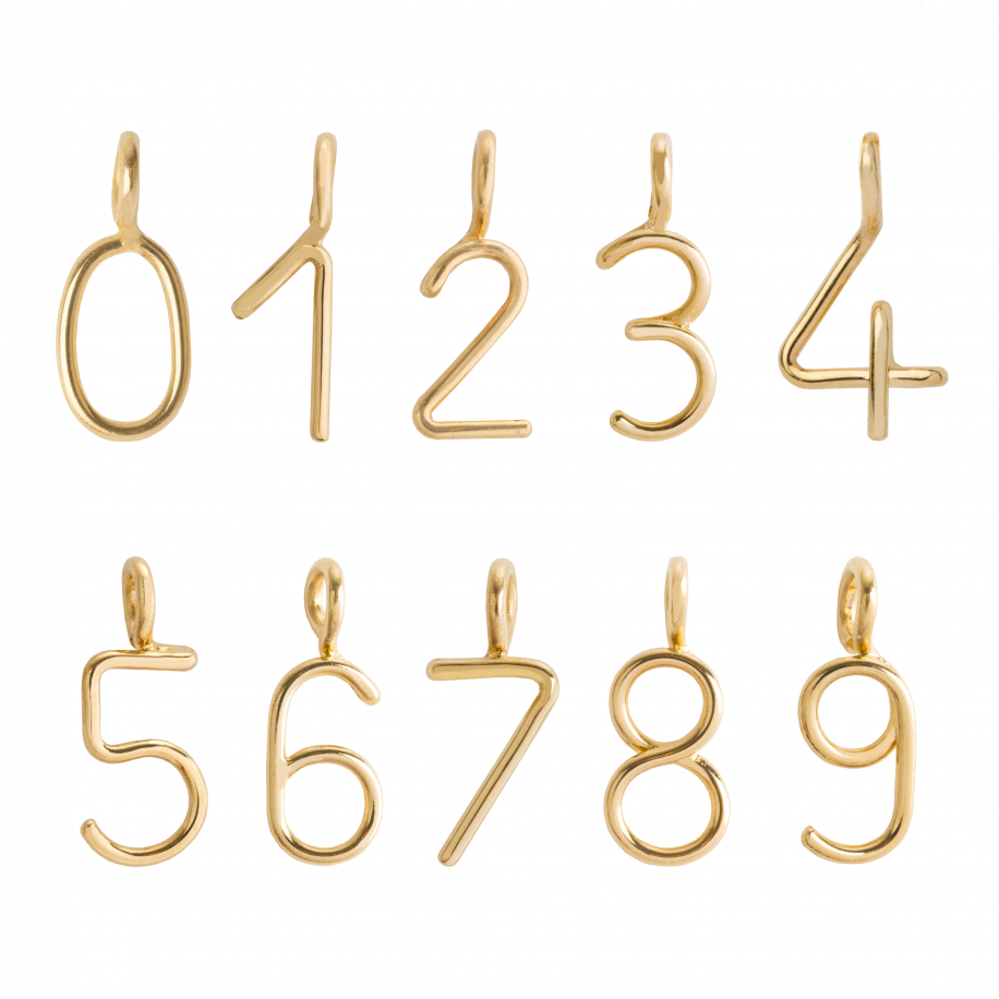 Numerology Charms Necklace