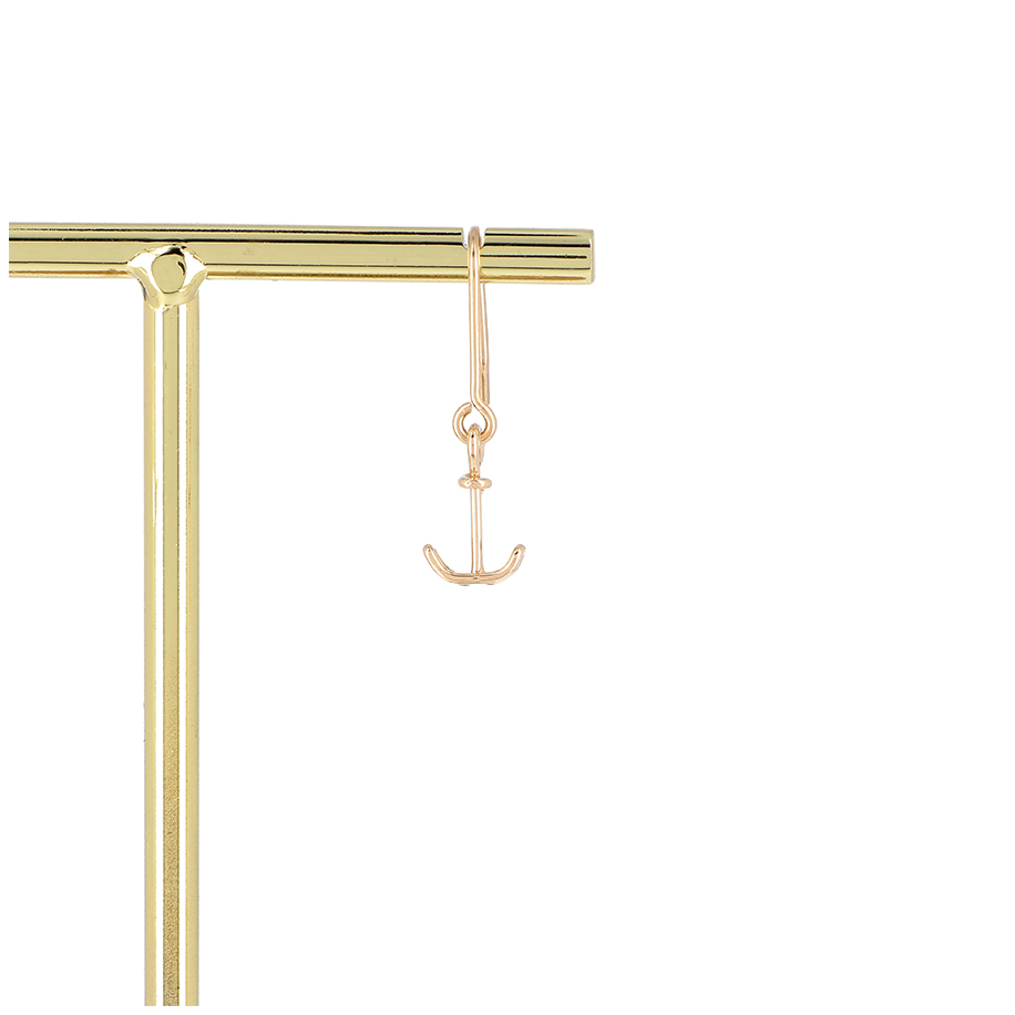 Anchor earring pure