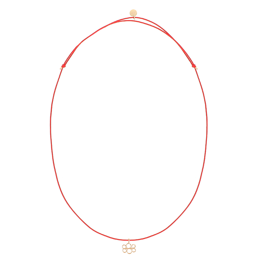 Necklace Pendant red link 888