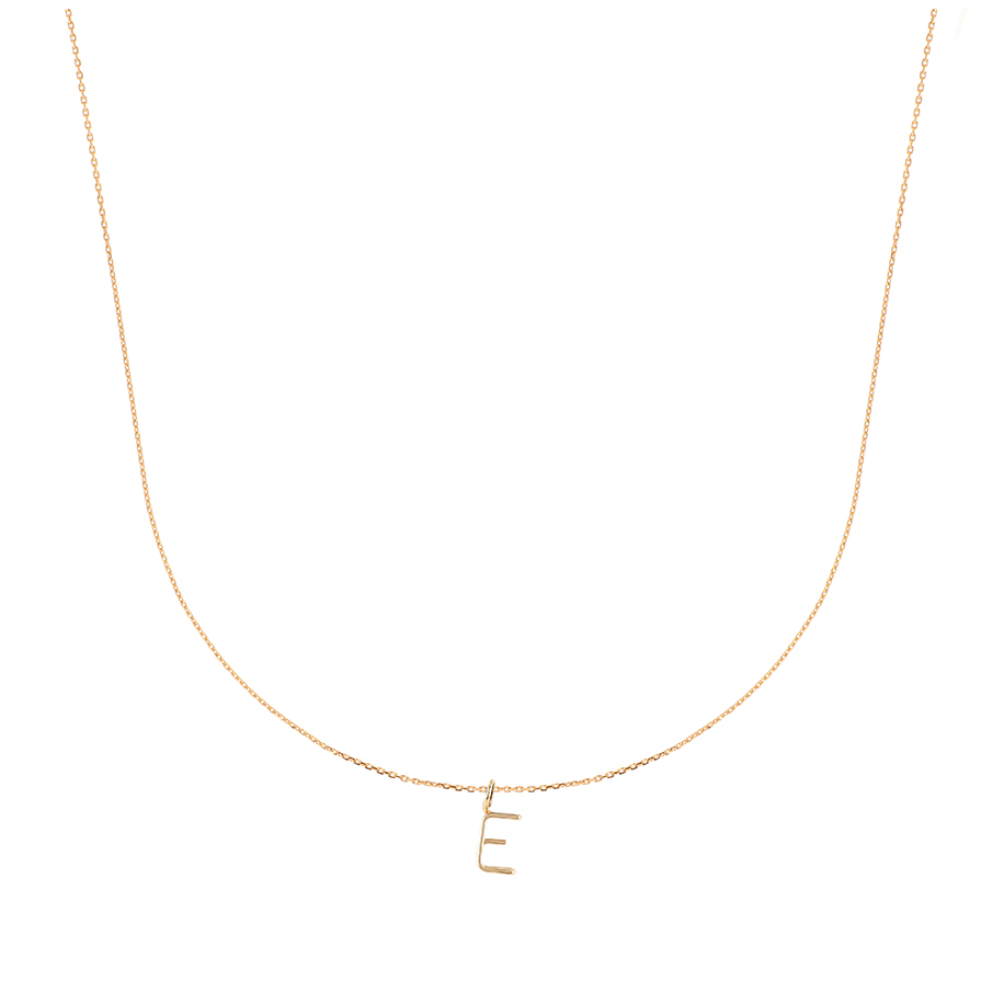 Initial Capital Necklace