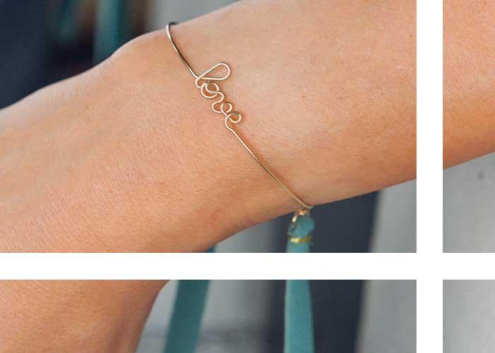 NEW IN : TIED BRACELET
